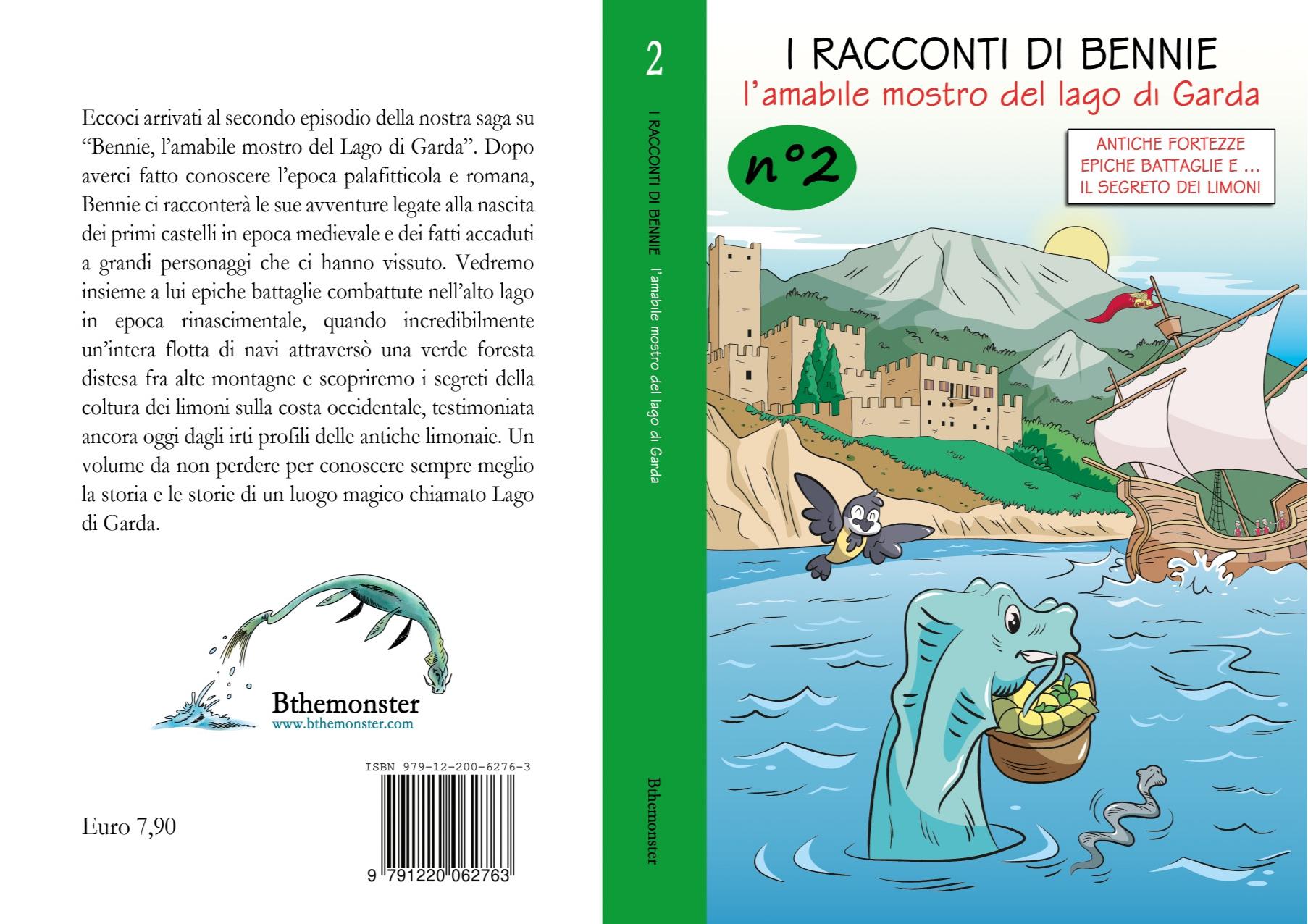 Libro Racconti di Bennie Vol.2 Italiano Bthemonster
