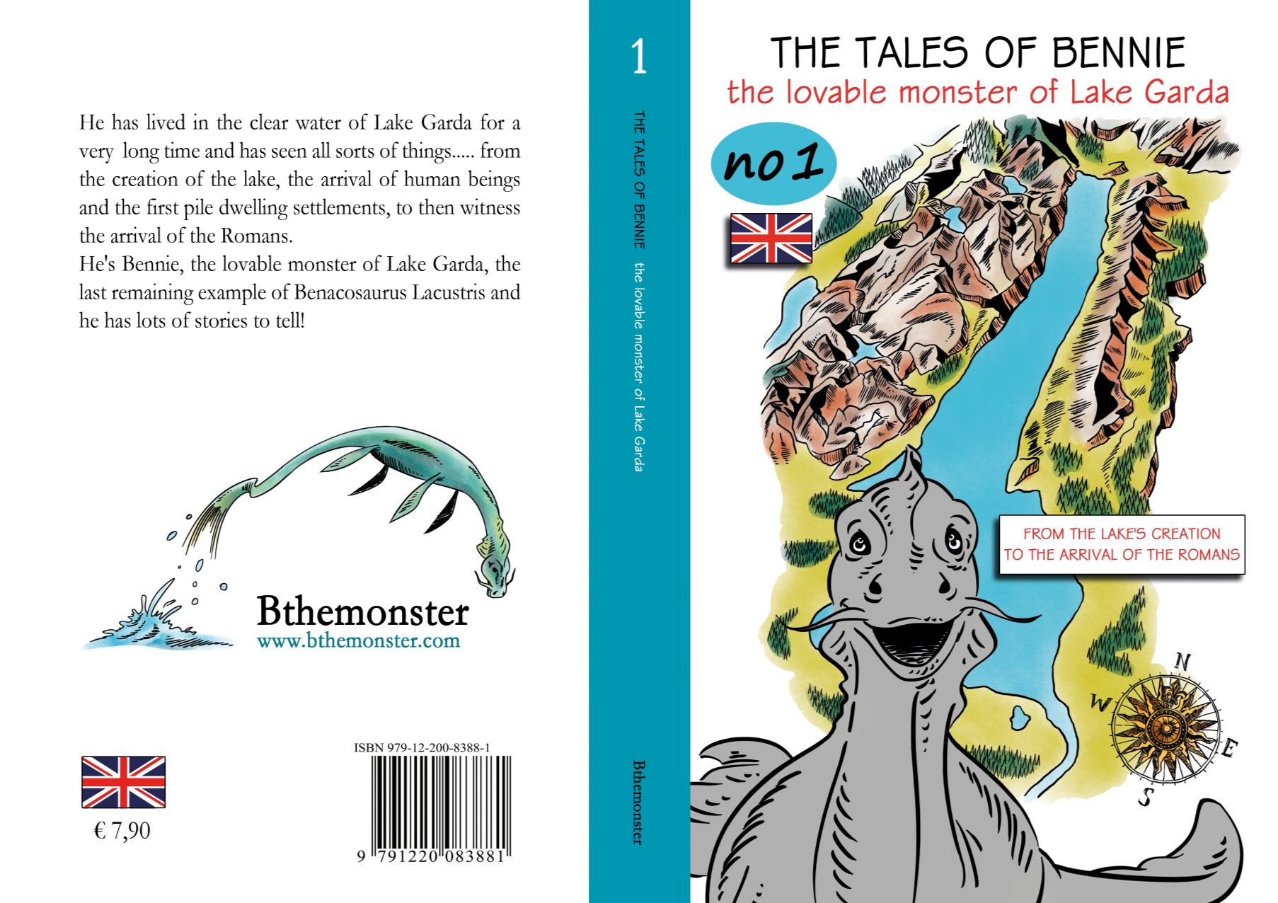 Epub Libro - Racconti di Bennie Vol.1 - Inglese. Bthemonster