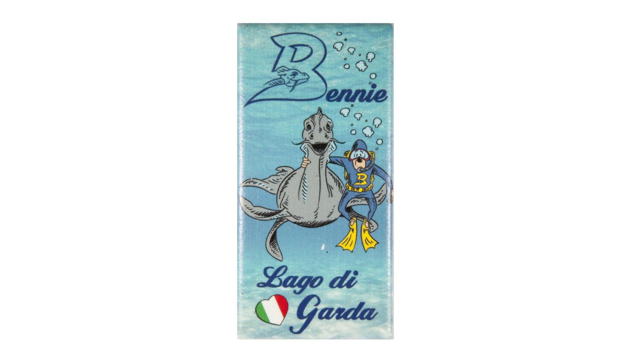 Magnet Bennie mostro lago di Garda and friend Bthemonster.com