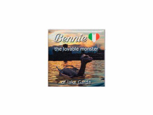 small magnet sundown Bennie the monster of lake Garda. Bthemonster.com