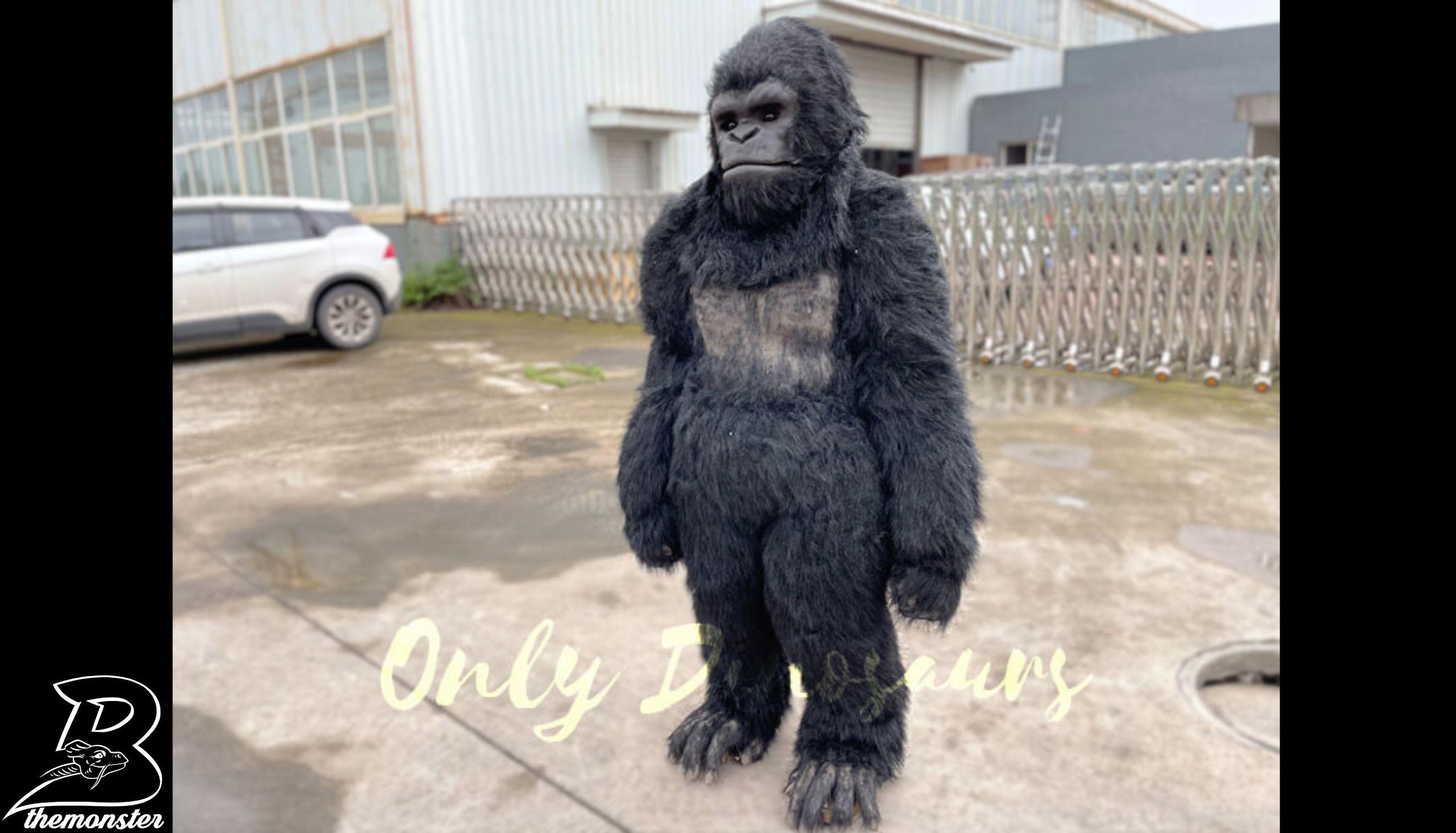 Custom Gorilla Animal Costume Per Shop Bthemonster.com