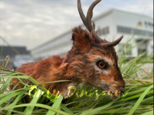 Lifelike Reindeer False Arm Animal Puppet in vendita sul Bthemonster.com
