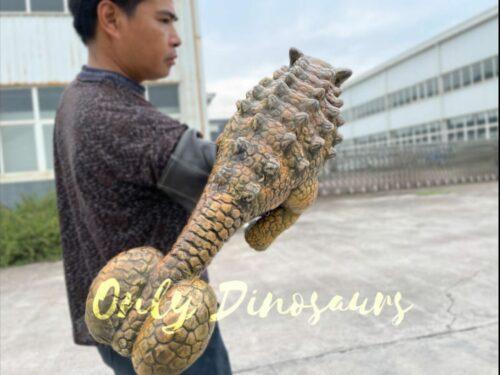Wonderful False Arm Ankylosaur Dino Puppet in vendita sul Bthemonster.com