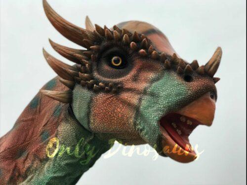 Lifesize Spotted Stygimoloch Dinosaur Costume in vendita sul Bthemonster.com