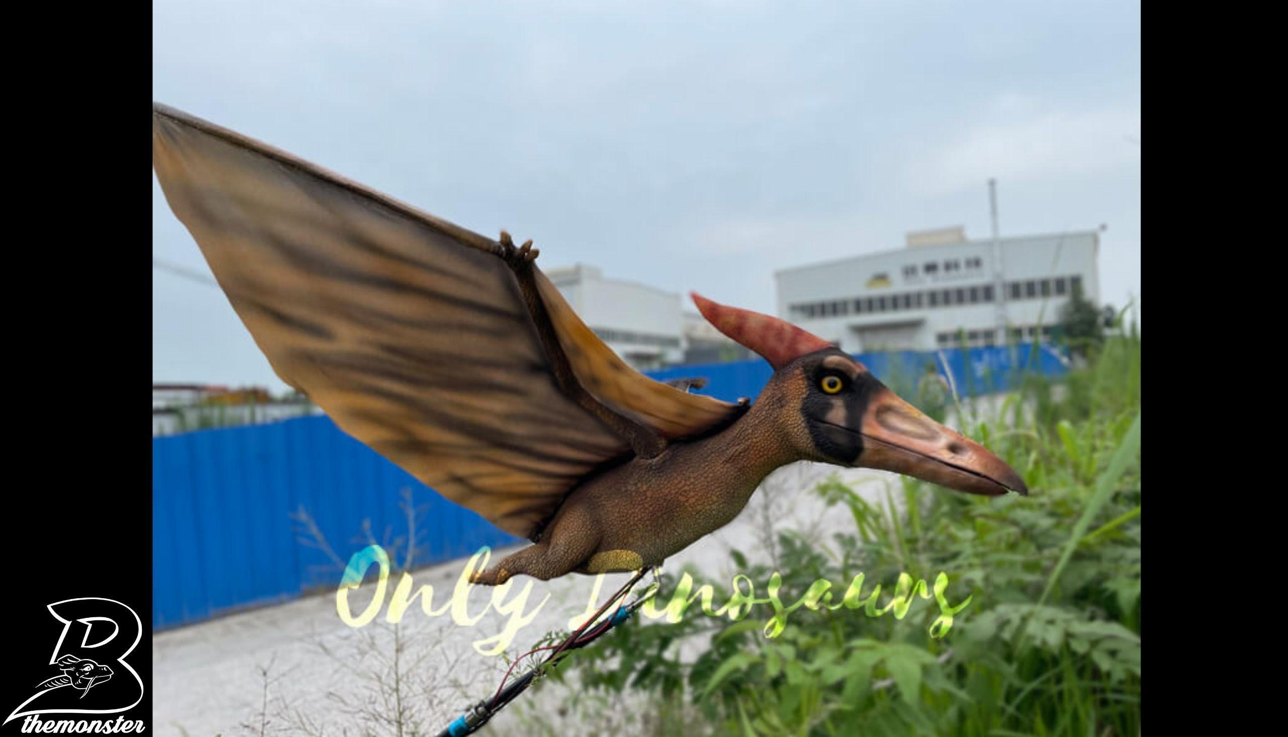Custom Pterosaur Rod Puppet in vendita sul Bthemonster.com