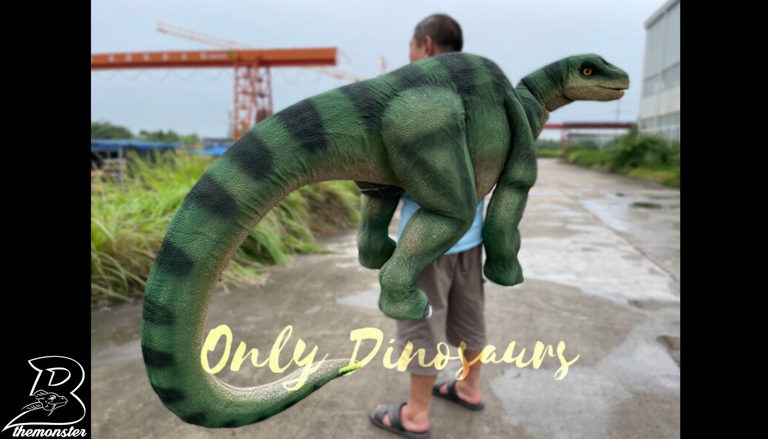 Vivid Brontosaurus Dino Shoulder Puppet in vendita sul Bthemonster.com
