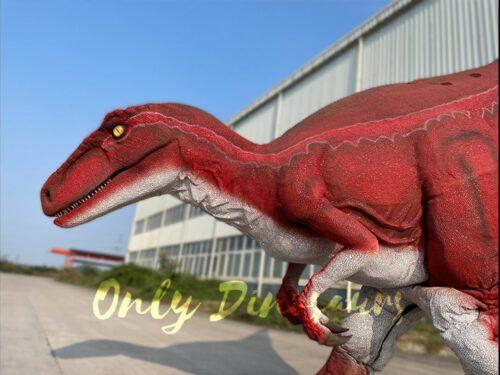Jurassic Park Red Raptor Dinosaur in vendita sul Bthemonster.com