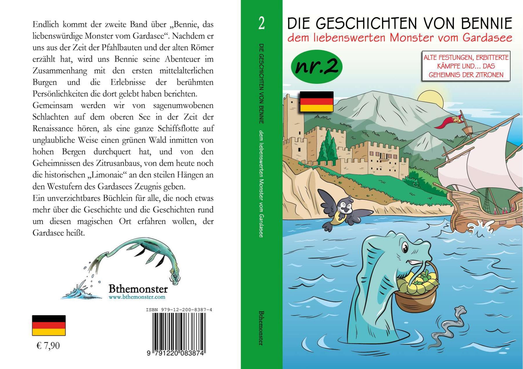Libro di Bennie N.2 in Tedesco - Bthemonster.com
